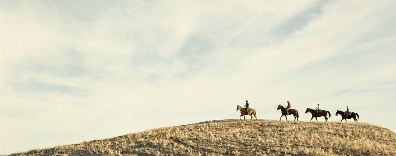 Horseback riding near Zion National Park