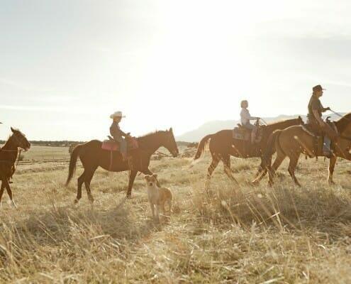 Horseback riding in Zion