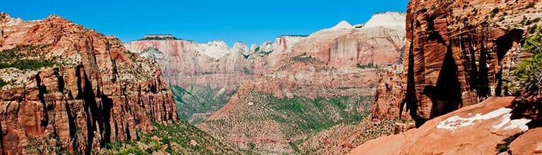 Beautiful View of Zion Canyon contact info