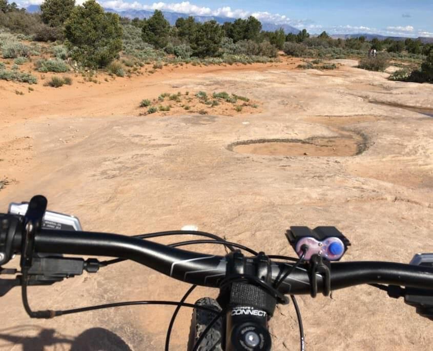 Gooseberry Mesa Mountain Biking near Zion